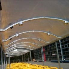 Lichtdurchlaessiges Dach