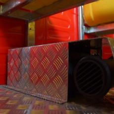 Funtrain equipment, webasto heating