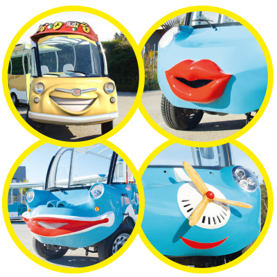 Magicx funtrain faces equipment