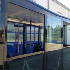 Cityliner opened windows, funtrains, tracklesstrain,